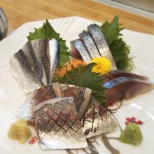 3种发光鱼拼盘