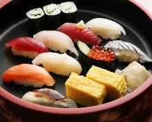 手握寿司午餐套餐