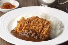 炸肉排咖喱
