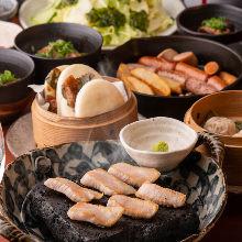4,644日元套餐 (9道菜)