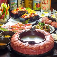 4,980日元套餐 (10道菜)