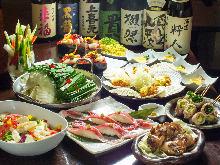 4,980日元套餐 (9道菜)