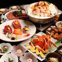 6,480日元套餐 (9道菜)