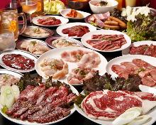 5,918日元套餐 (44道菜)