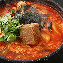 韩式肋肉汤饭
