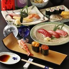 寿司御膳套餐