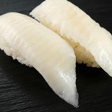 缘侧(鱼背鳍附近的肌肉)