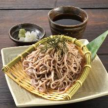 竹筛荞麦面