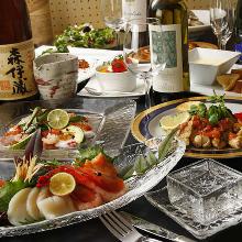 5,200日元套餐 (8道菜)