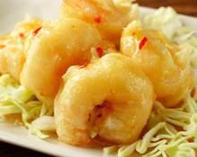 蛋黄酱炒虾仁