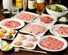 7,020日元套餐 (10道菜)