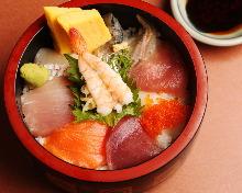 每日更换海鲜盖饭