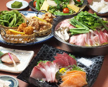 4,500日元套餐 (8道菜)