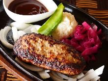 猪肉汉堡排