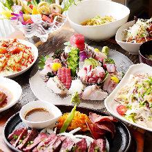 8,700日元套餐 (9道菜)