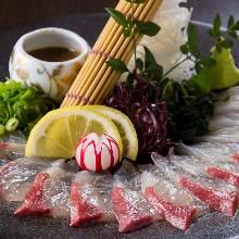 芝麻红甘鲹鱼