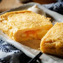 明太子奶酪高汤鸡蛋卷