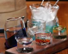 3kind of tasting okinawa island or miyako-yonaguni-ishigaki island