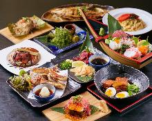 4,000日元套餐 (70道菜)