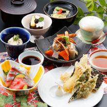 1,740日元组合餐 (8道菜)