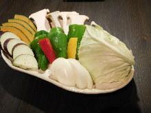 烤蔬菜拼盘
