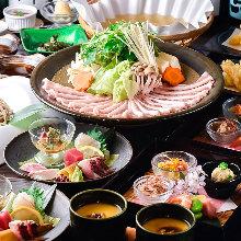 4,950日元套餐 (7道菜)