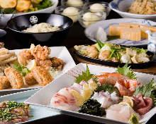 3,850日元套餐 (8道菜)