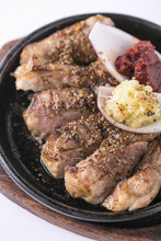 烤、煎猪肉