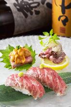 炙烤牛腿肉寿司