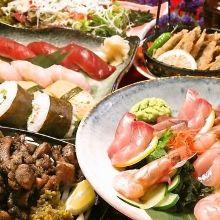 3,000日元套餐 (6道菜)