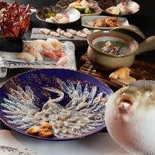 10,000日元套餐 (9道菜)