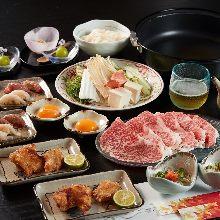 6,980日元套餐 (6道菜)
