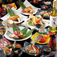 5,500日元套餐 (10道菜)