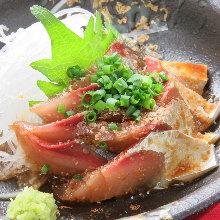 芝麻青花鱼(乡土料理)