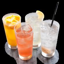 香橙蜂蜜碳酸酒