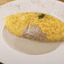 鹅肝煎蛋卷