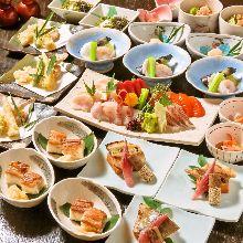 8,100日元套餐 (10道菜)