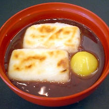 红豆年糕汤