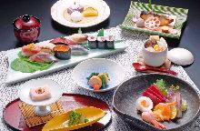 7,700日元套餐 (8道菜)