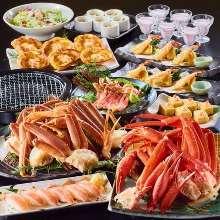 6,800日元套餐 (8道菜)
