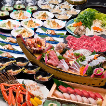 6,800日元套餐 (9道菜)
