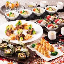 4,100日元套餐 (8道菜)