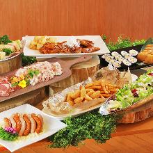 3,600日元套餐 (7道菜)