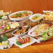4,600日元套餐 (9道菜)