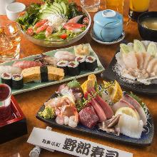 5,900日元套餐 (7道菜)