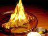 火焰水晶烤骰子牛排!