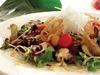 鲣鱼与秋季多彩蔬菜沙拉
