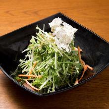 沙丁雏鱼水菜沙拉