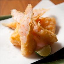 腐皮包虾丸子