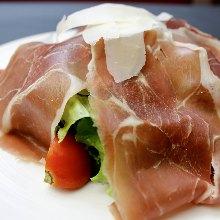 芝麻菜沙拉